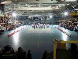"""Die """"Show des Sports"""" findet alljährlich in der Halle Berg Fidel statt."""