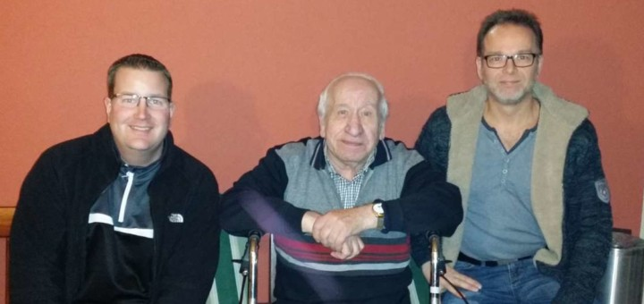 Sportwart Schulz und Geschäftsführer Uhlenbrock besuchen D. Achenbach zur Adventszeit